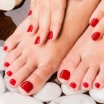 vernis pieds